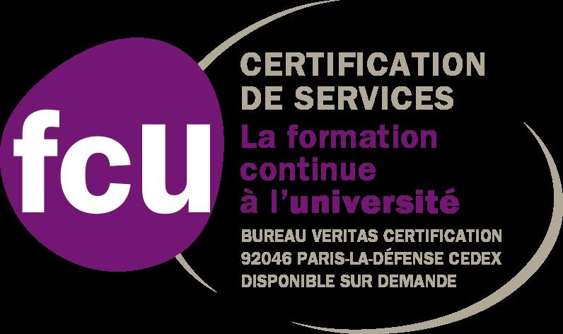 Logo Certification Formation Continue à l'Université